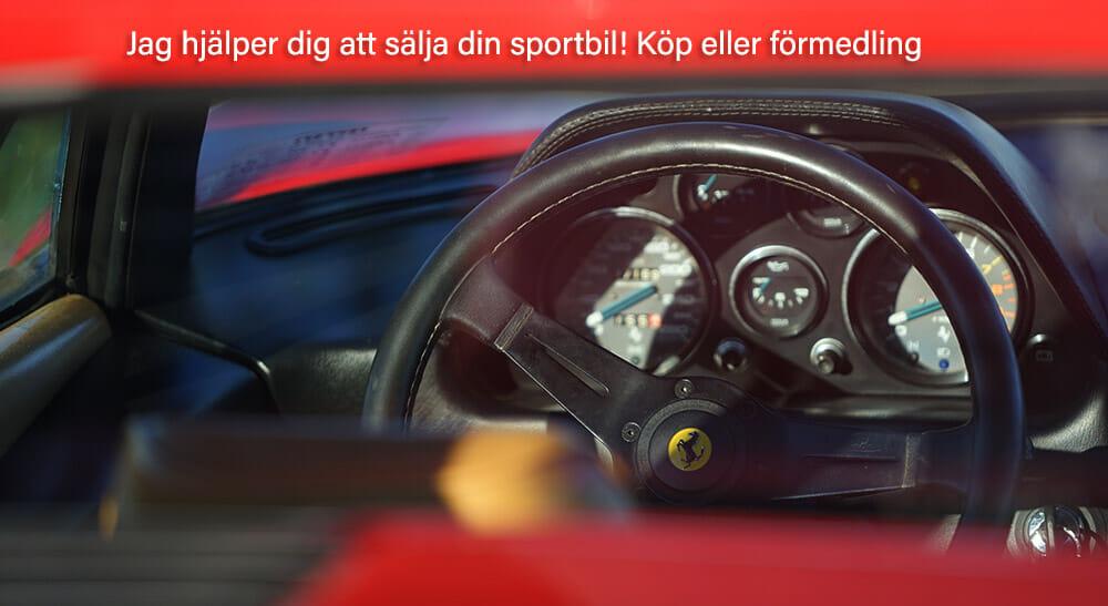 klassiska sportbilar till salu